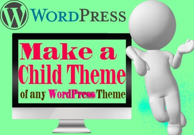 Create a child theme for WordPress