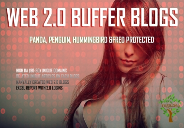 Create Awesome 10 Web 2.0 Buffer Blogs With Login Details