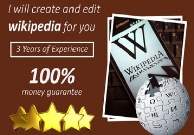 Create a Permanent Wikipedia Page for $100