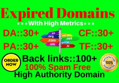 Best SEO Friendly Niche Base Expired Domains