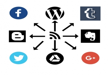 Syndication Network - Automated Social Media Posting for Backlinks