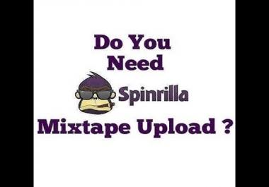 Spinrilla Single/Album/Mixtape Uploads (Proffesional & Fast) Shop Now!!