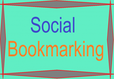 Give you 20 social-bookmarking from 8 different social sites
