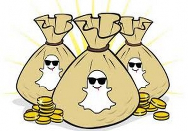 show you how to make money online with SNAPCHAT riches