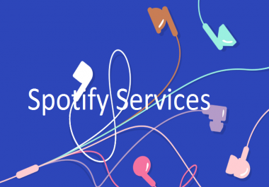 Get 1000+ High Retention, HQ and non-drop spotify plays