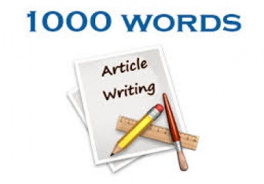 1000+ Words | Hand Written A Unique Article For your Money Site with Your Target Keywords