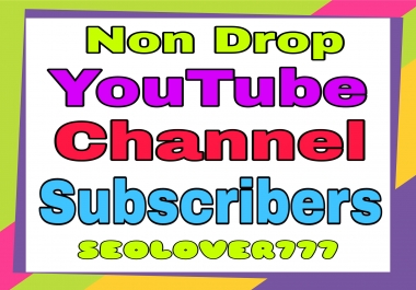 Youtube organic promotion via real users non drop guaranteed and fast delivery only