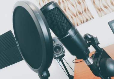 Provide 50 Words of Female Voiceover  (Recorded In My Studio))