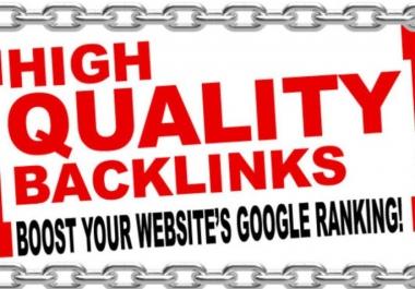 Do 10 High Quality Backlinks Domain Authority50 Plus Links