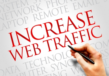 UNLIMITED Unique TRAFFIC from Google Twitter Youtube pinterest and many more to web site for 1 month