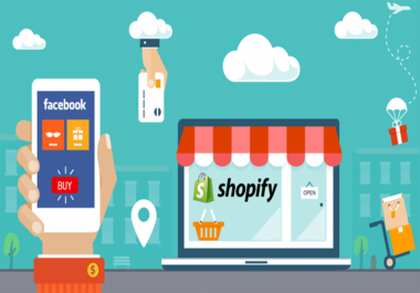I Will help you to SHOPIFY & FACEBOOK marketing