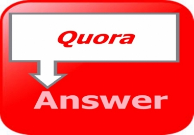 GET 5 Quora answer with Clickable Links