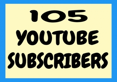 active 105 youtube subscribers within 2-3 hours only