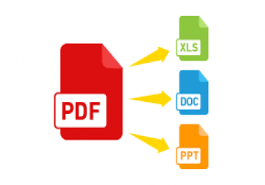 I can Convert your PDF to Document and edit it at 50 pages