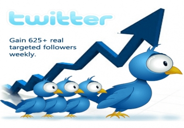 Twitter Genuine Growth ( weekly )