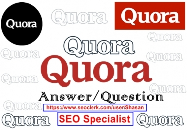 Give You Keyword Related 20 Quora Answer for Targeted Traffic