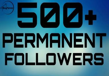Add 500+ Instant HQ Permanent Followers