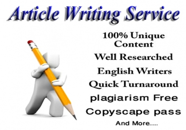 Write 15 Articles 500 words Pass Copyscape and SEO Optimized