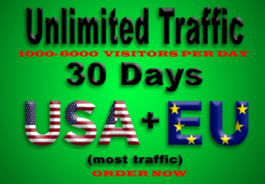 provide unlimited, real, adsense safe,usa social traffic