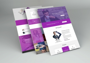 Portfolio and Business Webpage Design