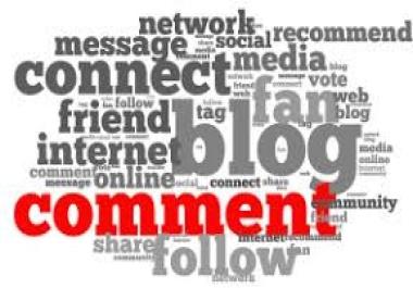 offer Manually 50 Highpr Blog Comment SEO Backlink