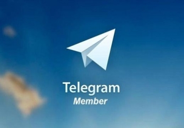 Real & Active 1050+ Telegram Channel Members or Post View-s Only