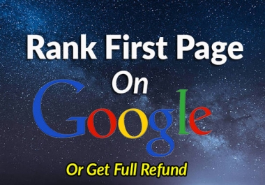 Rank you No 1 in google with 2018 white hat techniques link building