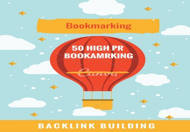 50 High PR Bookmarking