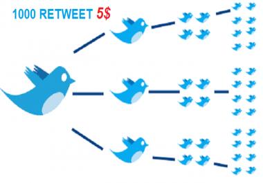 Start Instant 1000 Retweets