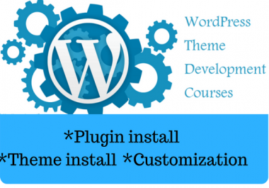 Develop Your Wordpress Theme And Plugin