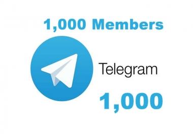 I will add Real Human 1010+ Telegram Members