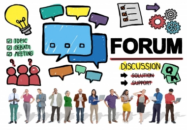 Do 35 High Quality Forum Posting Backlinks