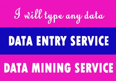 I'll Type any type of Data of 10 pages