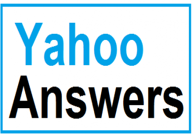 Promote your website in 10 Yahoo Answers