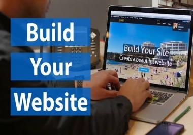 I Will Create A Professional Wordpress Website