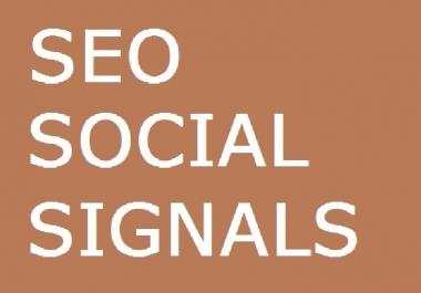 150 SEO SOCIAL SIGNALS - 30 GOOGLE PLUS, 40 LINKEDIN ... for $1