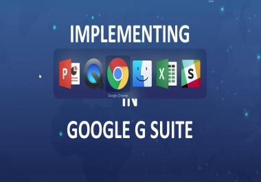 help you transforming your IT operations by integrating g suite