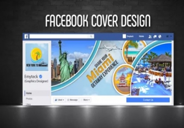 Will Design A Facebook Cover Photo Banner