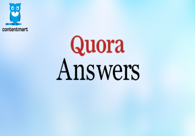 Promote Your business on 3 High Quality Quora Answer backlinks
