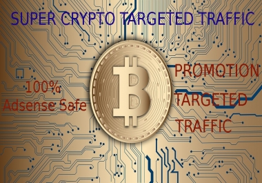 Drive Real Crypto Investors Traffic to your ICO or bitcoin Website