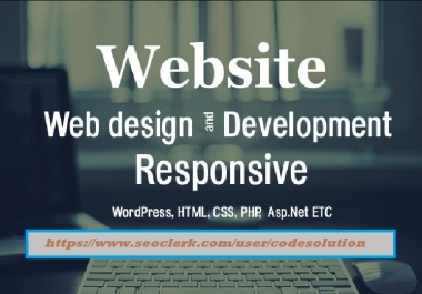 Instant Design And Develop Fully Responsive Any Website Nicely
