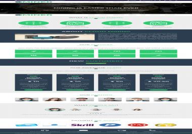 Online Cloud Mining Platform Developed with PHP Laravel.