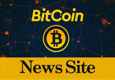 build automated bitcoin news site for passive income