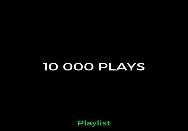 10 000 Playlist Music Promotion Sp0t
