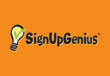 Provide you 17 real signups