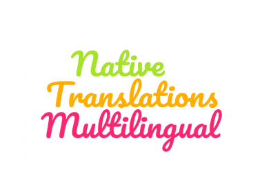 Global Native Professional Translations and projects Management