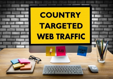 20000 TARGETED HUMAN TRAFFIC BY Google Twitter Youtube and many more to web site for 30 days for $5