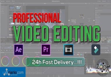Do Professional Video Editing Service Within Few Hours