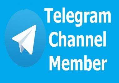 Add Real Human  500+ Telegram Members