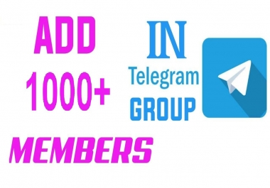 Buy Genuine Telegram Members for your group (Without Bot)
